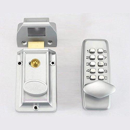 First Generation Mechanical Locks Keyless Digital Machinery Code Keypad Password Entry Door Lock