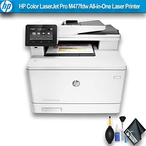 HP Color Laserjet Pro M477fdw All-in-One Laser Printer (CF379A) Essential Bundle