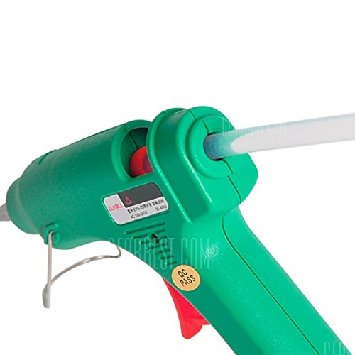 20W Electric Heating Hot Melt Glue Gun Crafts Repair Tool with Switch