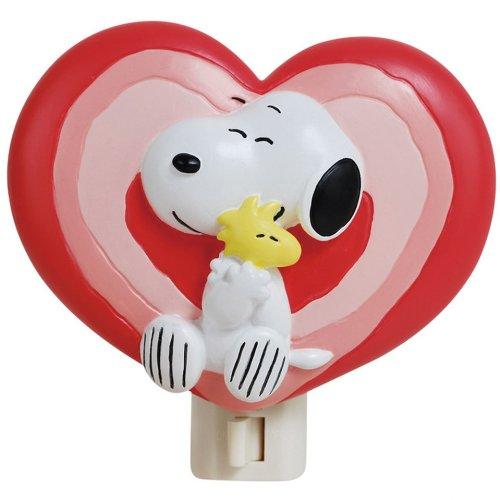 Westland Giftware Peanuts Nightlight, 4-Inch High, Snoopy Lo