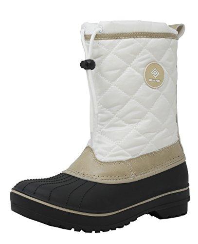 2017 Fashion Women Winter Boots Shoes (Beige) - 3