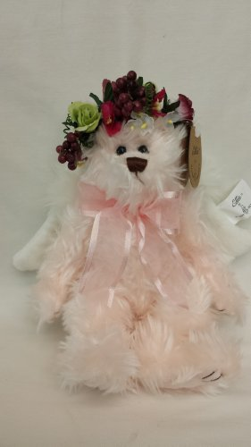 Ellis Collection Guardian Angel Inspirational Plush Teddy Bear Toy, 8 Inches Tall Jointed, Stuffed Animal
