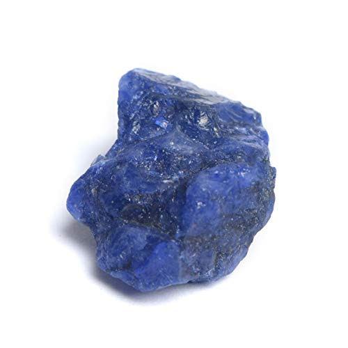 Genuine Rough Blue Sapphire 66.00 Ct Natural Raw Sapphire Healing Crystal Loose Gem for Jewelry