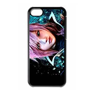 iPhone 5C Phone Case Black Eclair Farron Final Fantasy WQ5RT7454113