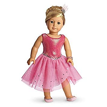 Amazon.com: American Girl Isabelle - Isabelle's Sparkle Dress ...