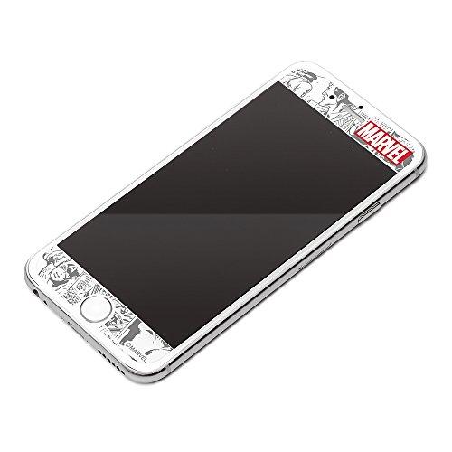iPhone7/6s/6/フィルム/Jaket/マーベル/衝撃軽減液晶保護フィルム/ロゴ/コミック/ PG-DHF193MVL