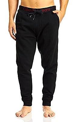 Calvin Klein Men's Icon Jogger Pants, Black, 2XLarge