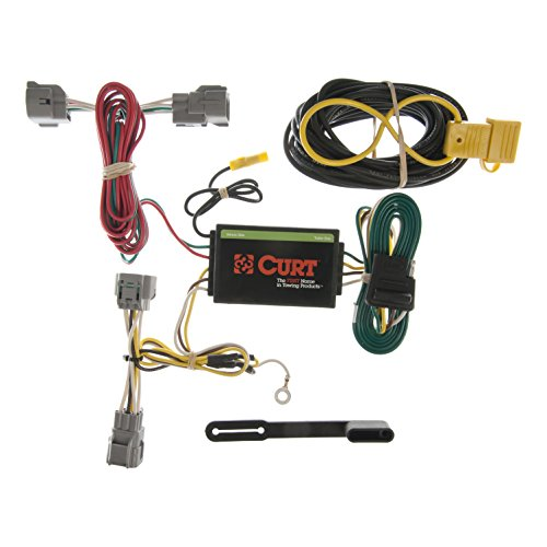 - CURT 55349 Vehicle-Side Custom 4-Pin Trailer Wiring Harness for Select Jeep Grand Cherokee