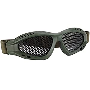 Education Toy,Jinjin Safety Glasses Goggles Anti-explosion Outdoor Protective Eyewear for Nerf Game (Army Green)