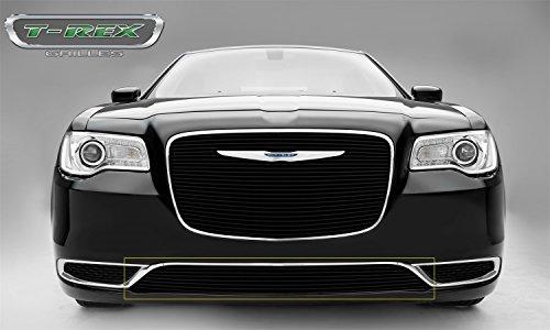 (T-Rex Grilles 25436B Black Overlay Billet Bumper for Chrysler)