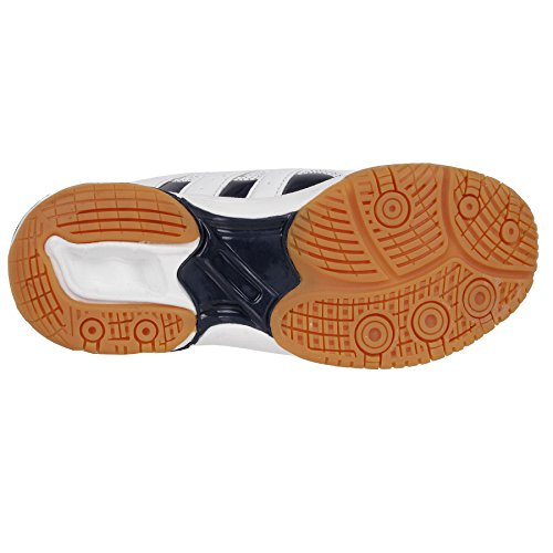 de sintético Shoes blanco Weiß Blau para XPD de Zapatillas material Sports voleibol Professional mujer nqwE8ZYET