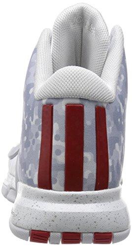 adidas J Wall 2 - Zapatillas para hombre Rojo / Blanco / Amarillo