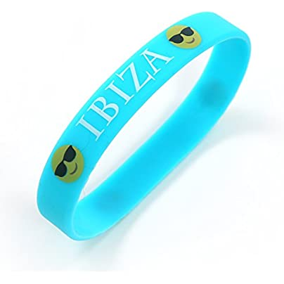 Komonee Ibiza Blue Holiday Silicone Wristbands Pack 50 Estimated Price £24.99 -