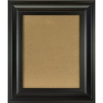 craig frames 21834700bk 22x28 pictureposter frame smooth finish 2 inch wide black