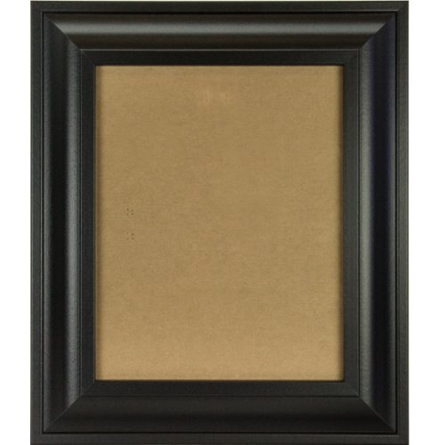 Craig Frames 21834700BK 11x17 Picture/Poster Frame, Smooth Finish, 2-Inch Wide, Black