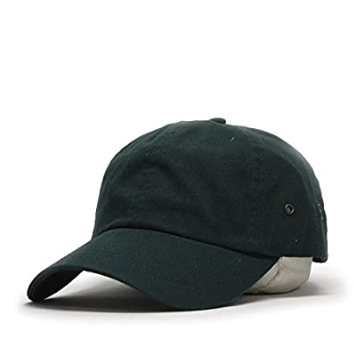 Vintage Washed Dyed Cotton Twill Low Profile Adjustable Baseball Cap