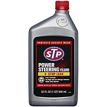 Amazon.com: STP 17925 Power Steering Fluid & Stop Leak, 12 fl. oz ...
