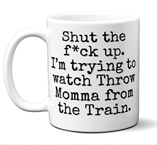 Throw Momma from the Train Gift Mug. Funny Parody Movie Lover Fan
