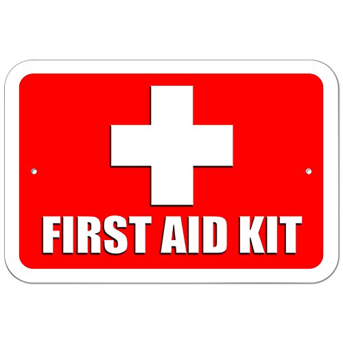 Graphics and More Plastic Sign First Aid Kit - 6