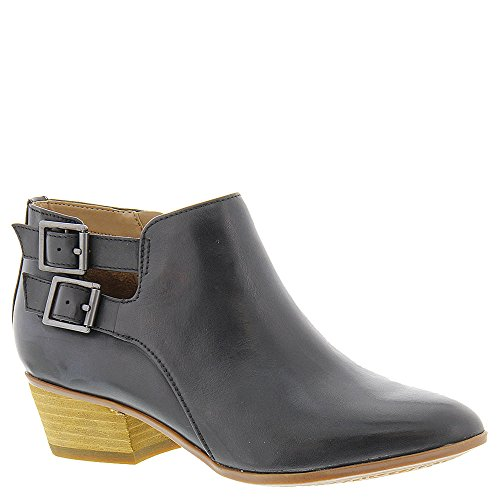 Clarks Women's Spye Astro Boot, Black Leather, 8.5 M (Black Leather Woman Boot)