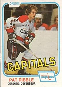 1981 O-Pee-Chee Regular (Hockey) Card# 339 Pat Ribble of the Washington Capitals VGX Condition