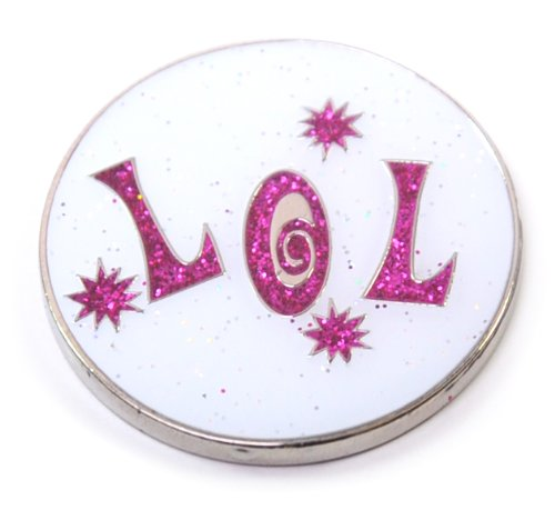Why Choose Navika Laugh Out Loud Glitzy Ball Marker with Hat Clip