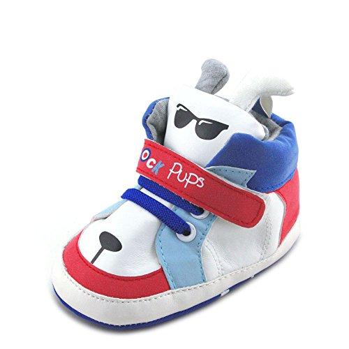 Baby Jungen Doggy Stiefel, Weiß - weiß - Größe: