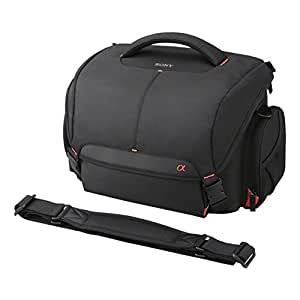 Sony LCSSC8 Lightweight System Case for Alpha DSLR Camera and Lenses - Black