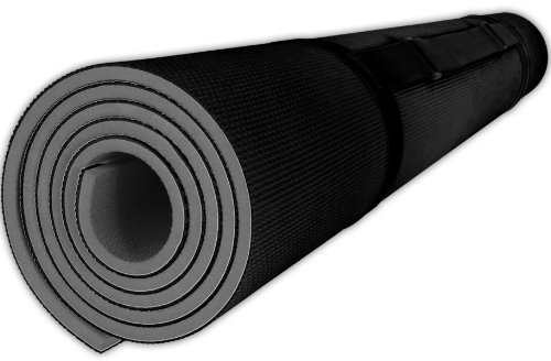 "3/8"" Extra Thick Foam Yoga & Exercise Mat (24 sqft, 4' x 6')"
