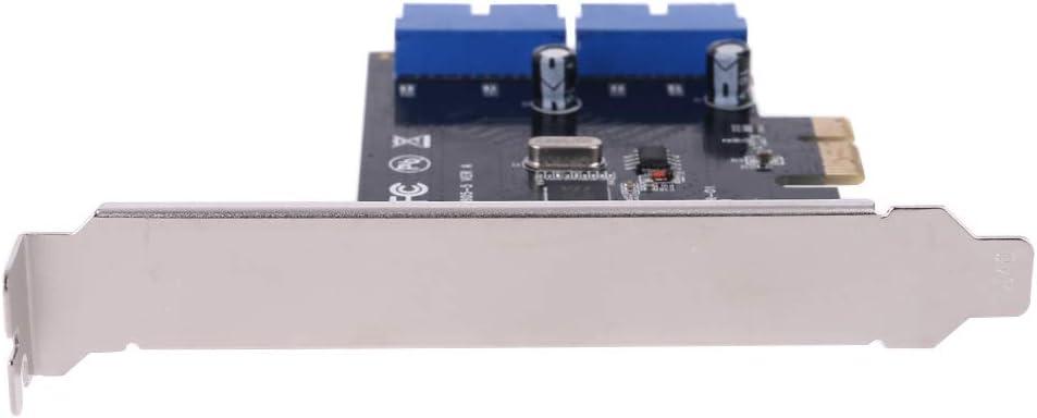 yuwei VL805 Chipsatz PCI Express Dual-20pin USB 3.0-Controller-Karte PCI-e auf Stecker Port Adapter Erweiterungskarte