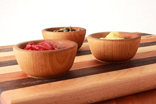 Handmade Pinch or Condiment Bowls 3 PC Set made in New England