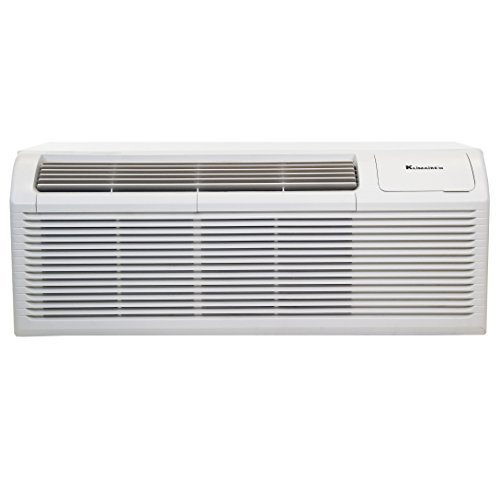 Klimaire KTHN015E5H210-BWG 15000 BTU 9.6 EER PTHP Heat Pump with 5KW Auxiliary Electric Heater Includes Wall Sleeve & Aluminum Back Grille by Klimaire (Image #1)
