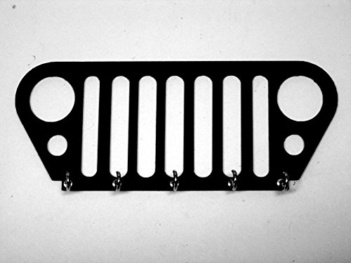 Jeep Grill Key Rack Key Holder Key Hook Wall Decor Jeep Gift