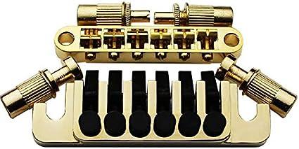 Guitar Tune-O-Matic Roller Saddle Bridgefor Gibson LP SG Electric Guitar //Neu