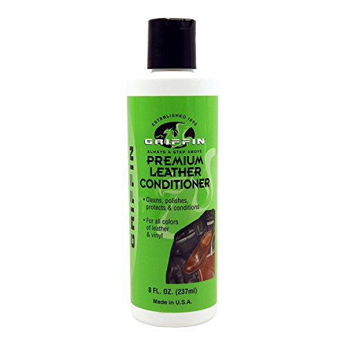 Griffin Premium Leather Conditioner - Cleans, Polishes, and Protects. Made in the USA