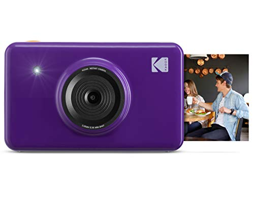 Kodak Mini Shot Wireless Instant Digital Camera & Social Media Portable Photo Printer, LCD Display, Premium Quality Full Color Prints, Compatible w/iOS & Android ()