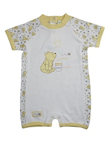 Bebé Unisex Winnie the Pooh Pijama Mamelucos 6-9 Meses