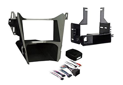 Metra Single DIN/Double DIN Installation Kit for 2010 Chevrolet Equinox Vehicles (Gray)