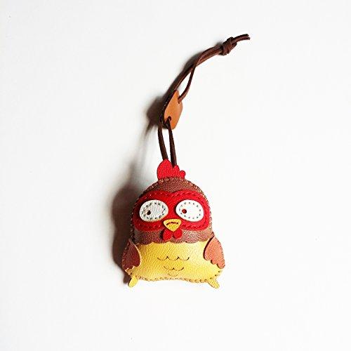 - 3XU Chicken Plushies - Chick Stuffed Toy - Bag Accessories - Keyring - Cute Chicken Key Chain