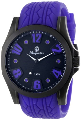 Burgmeister Men's BM606-623 Black Spirit Analog Watch