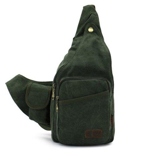 YSYT ,  Damen Herren Kinder Schulrucksack grün 38x18x8 cm