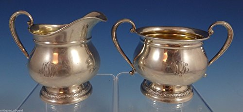 Prelude by International Sterling Silver Sugar & Creamer 2pc #C147 (#0890)