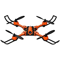 Owill i Drone i5HW FPV Selfie Drone 0.3MP Camera Foldable Arms Altitude Hold Quadcopter/ BNF Version (Orange)