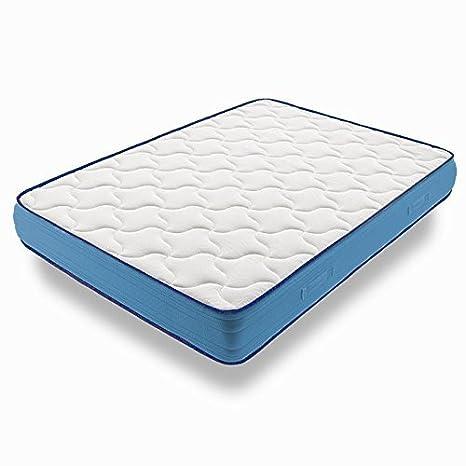 HOGAR24 Cama Completa - Colchón Viscoelástico Viscorelax Reversible + Somier Basic + 4 Patas, Regalo Almohada Fibersoft, 90x180cm: Amazon.es: Juguetes y ...