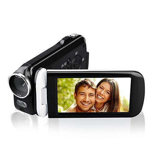 Video Camera Camcorder, ElecRat 24MP HD Interpolation 1080P Digital Video Camera 18X Digital Zoom 3.0 HD Touch Screen Digital Camera Recorder (Camera Digital Zoom)
