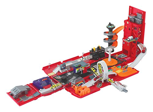 Fire Playset (Motormax Take Along Fire Station Playset)