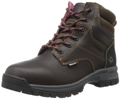 Wolverine Women's Piper Comp Safety Toe Boot,Brown,9.5 W US by Wolverine