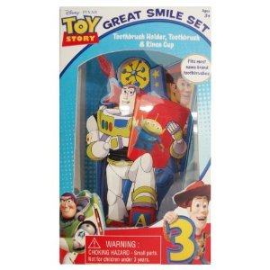 Buzz Lightyear figura de acción de – Toy Story Gran Sonrisa cepillos de dientes dientes juguete