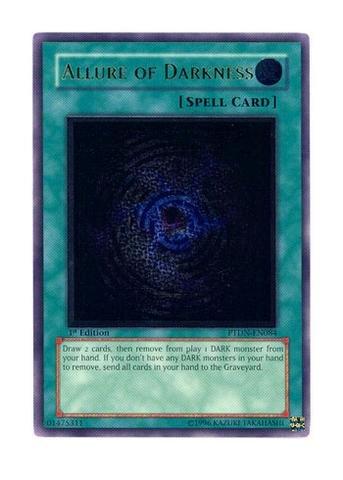 Yu-Gi-Oh! - Allure of Darkness (PTDN-EN084) - Phantom Darkness - 1st Edition - Ultimate Rare