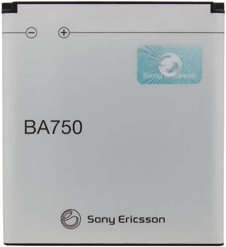 Sony Ericsson BA750 Battery for Xperia Arc S - Original OEM - Non-Retail Packaging - White